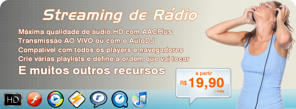 Streaming de Rádio